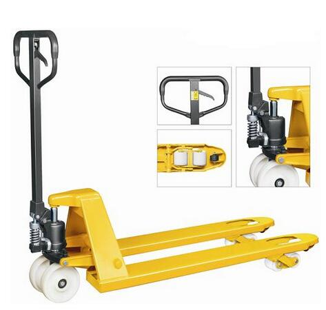 Hot Sale HEAMI Pallet Jack Hand Truck hand lifter in stacker