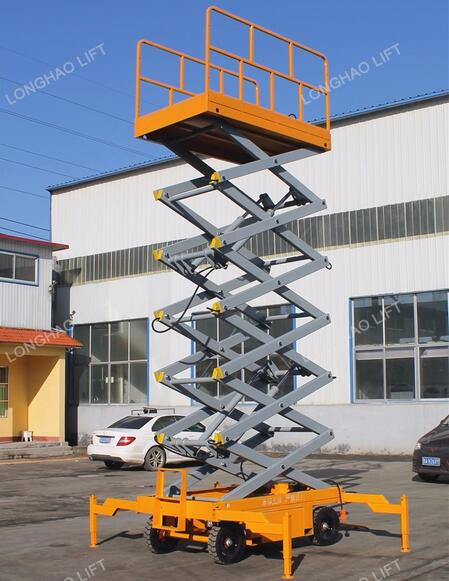 LHSJYO0.3-4 18 m electric mobile electric hydraulic scissor lift