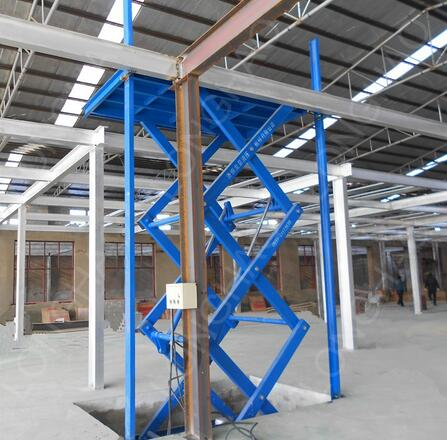longhao widely used in floor stationary scissor lift China best lift tables
