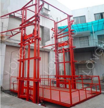 LHSJD0.5-4.5 Series small cargo lift for ground floor to first floor