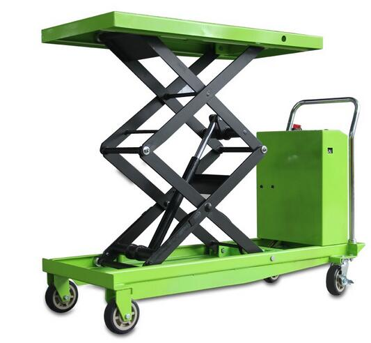 DYTJ-S100 High strength steel CE certificate electric lift table