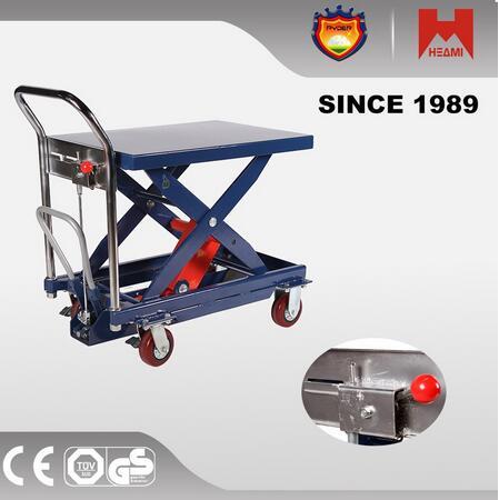 CYT-B500 Good quality 300kg 500kg mechanical scissor lifting table