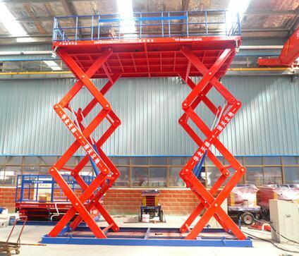 High quality electric fixed hydraulic garage auto scissor car lift