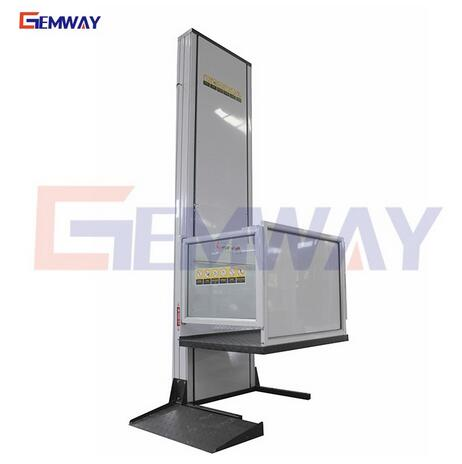 2.5m Indoor home wheelchair vertical platform lift elevator price