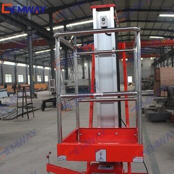 VAL0.2-8 8m China Electric Motor High-strength vertical man lift