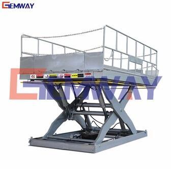 SLT6-3.2 GEMWAY high rise outdoor fixed mechanical scissor lift table
