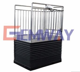 SLT1.5-1.93 Top sale small hydraulic dock lift for goods delivery