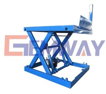 SLT2-1.3 Outdoor hydraulic scissor loading dock lift platform