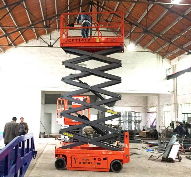 JCPT6HD Self-propelled Hydraulic Aerial Work Platform for sale