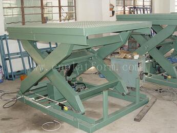 SJG10-1.2 High strength steel Stationary Hydraulic Scissor Lift