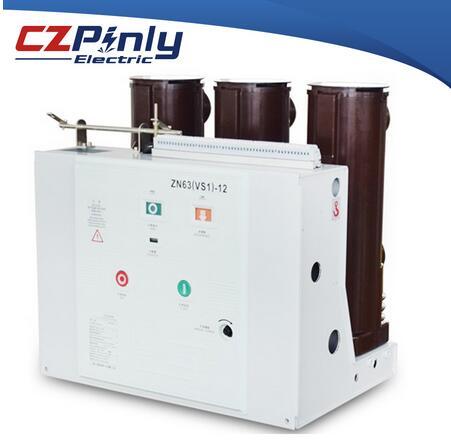 vs1 11kv 3poles VCB small pole distance vacuum circuit breaker