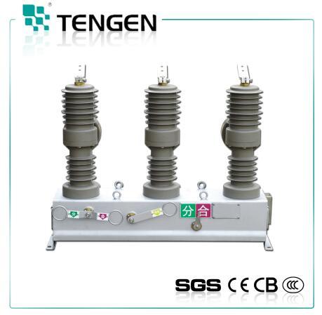 ZW32-12/M630-20 pillar type outdoor 12kv vacuum circuit breaker