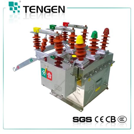 High quality safety and efficient ZW8-12G outdoor vacuum circuit breaker