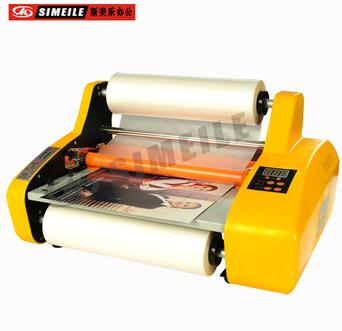 FM 3810 650W 10kgs single side roll paper laminating machine