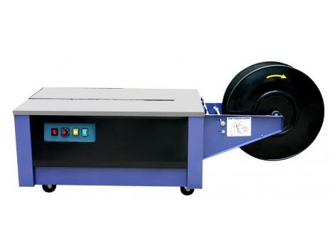 KZ900L 250W 220V semi-automatic low desk strapping machine
