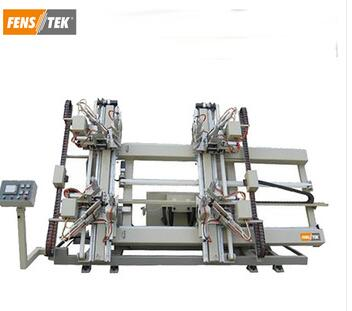 CNC vertical welding machine PVC doors and windows making machine