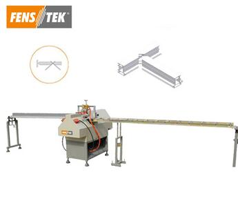 Automatic pvc doors and windows making machine for cutting pvc profile