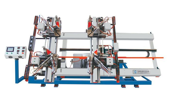 Four-Corner CNC Welding Machine SHP4-CNC-3000X1800X120