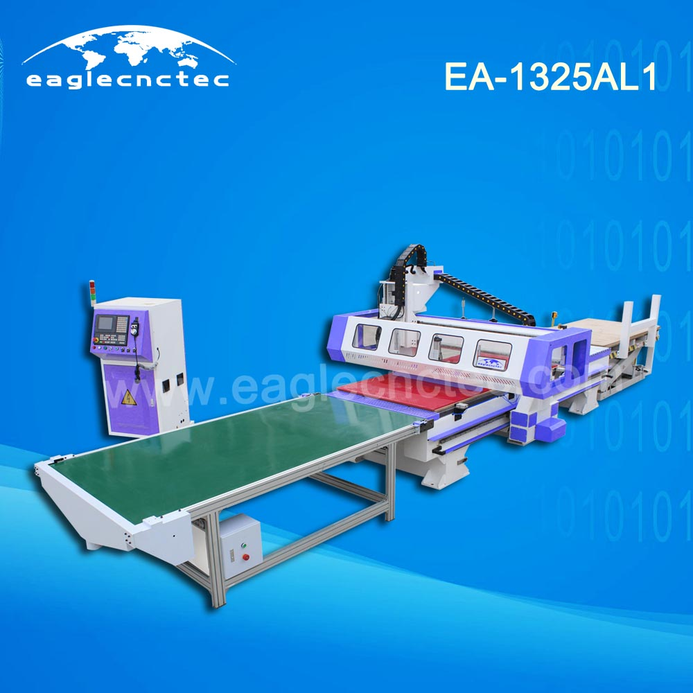 Auto Loading and Unloading Nesting CNC Router Machine