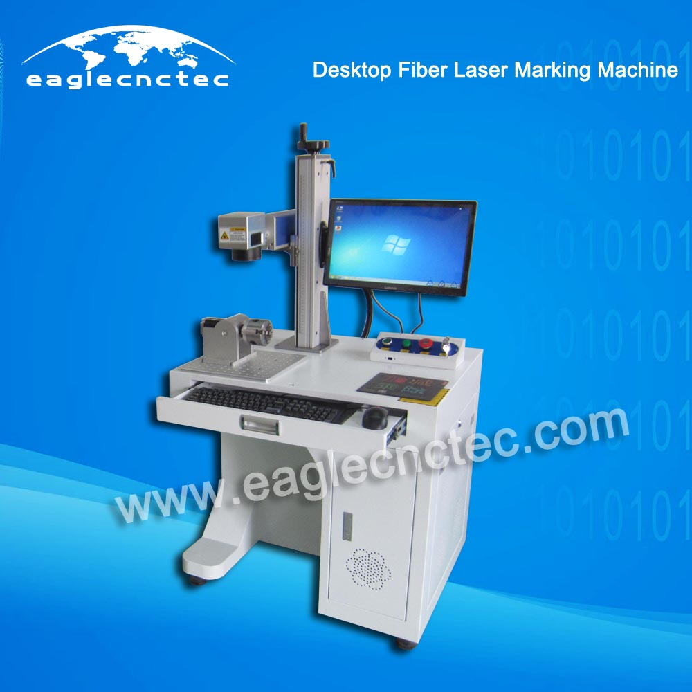 20w Fiber Laser Marking Machine Nameplate Engraving Machine