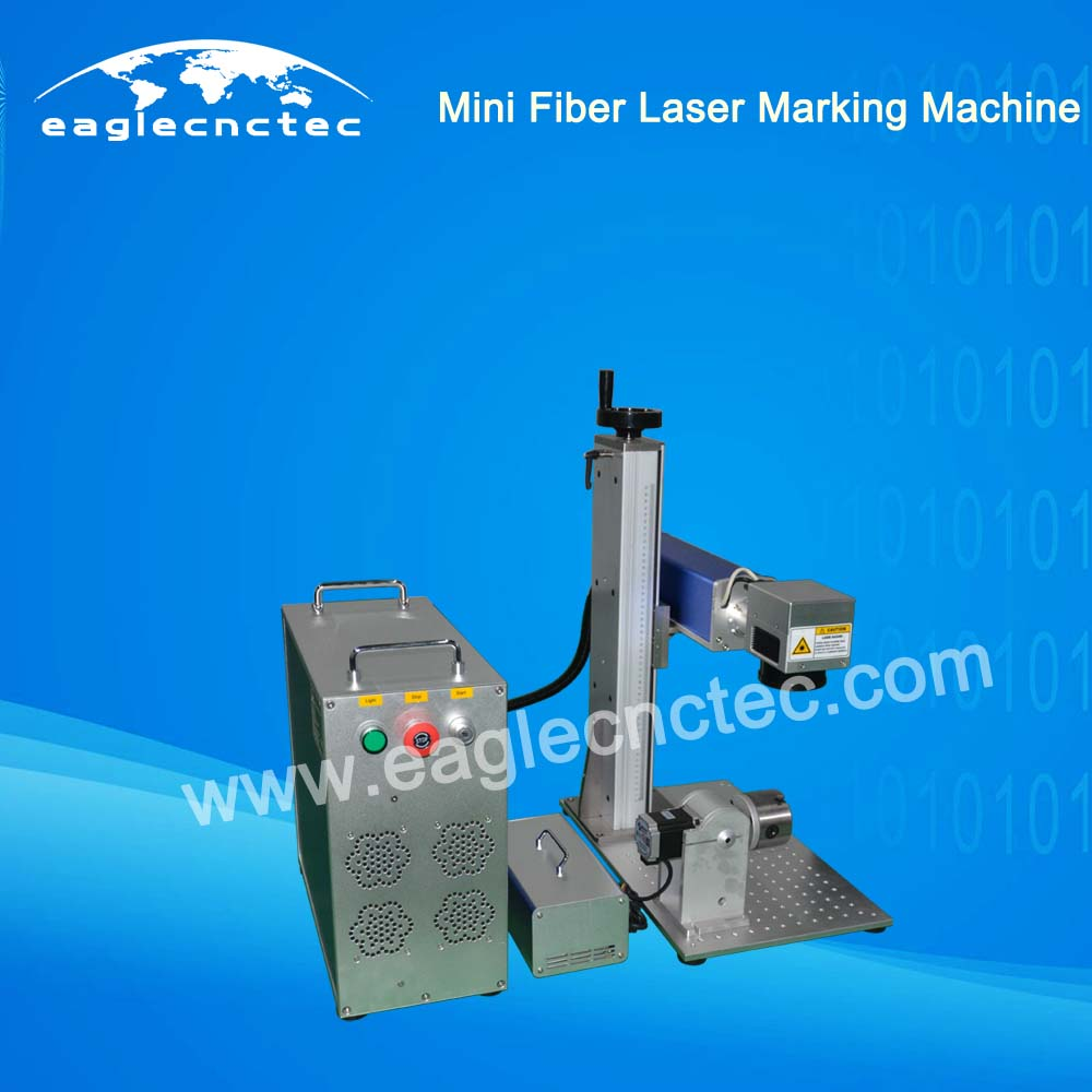 Small Fiber Laser Engraver Marking Machine for metal marking