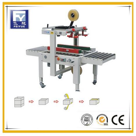ISO9001 Semi-Automatic Adhesive Tape Carton Sealing Machine