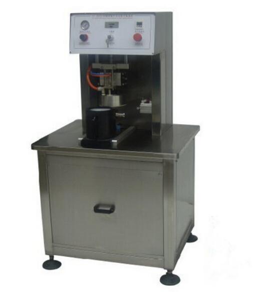 DG-1 Semi-Automatic vacuum capping machine for glass bottle lid