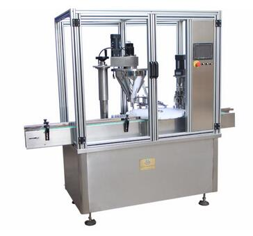 HTGX 500kg Automatic Small Bottle Filling and Capping Machine