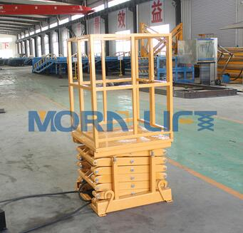 Professional manufacturer light capacity hydraulic scissor lift table
