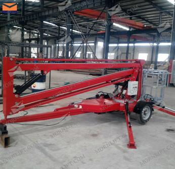 ATB0.2-14 Series 14m construction rotating towable man lifts for sale
