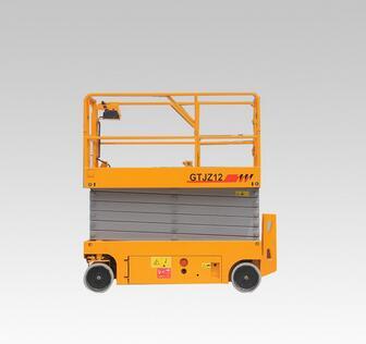 ISO9001 mold Fixed scissor car lift /Stationary scissor lift platform