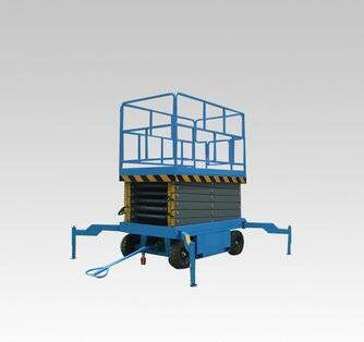 Hydraulic Mobile Scissor Lift Table High-altitude Work Table Lifting Platform