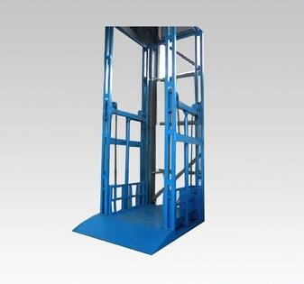 Factory directly supply hydraulic lifting equipment guide rall platform