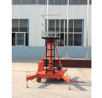 Portable cylinder Hydraulic lift Platform used aerial work platform
