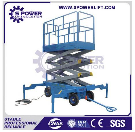Widely used hydraulic electric power small scissor lift platform