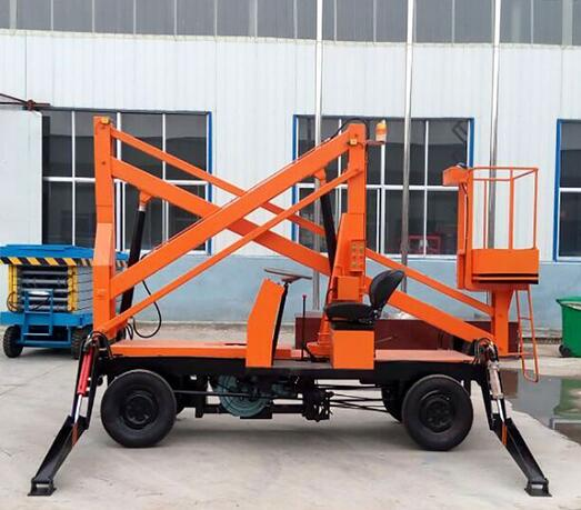 QYQB-15 Self-drive Hydralic Man Mobile Articulating Lift Platform