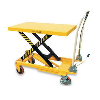 ISO9001 200kg 2.2kw movable mini mobile scissor lifting machine