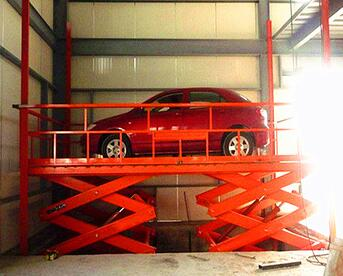 ISO9001 portable hydrauliccar hoist cheap car scissor lift platform