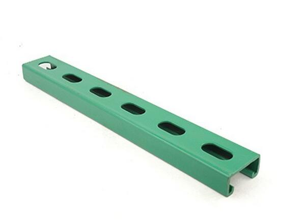 Green Color Professional C Steel Channel