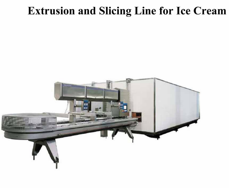 EX800 Extrusion and Slicing Line for Ice Cream