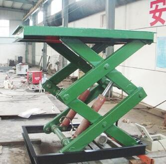 SKYLIFT Top Quality 4S Shop Use Car Scissor Lift With Electric powe