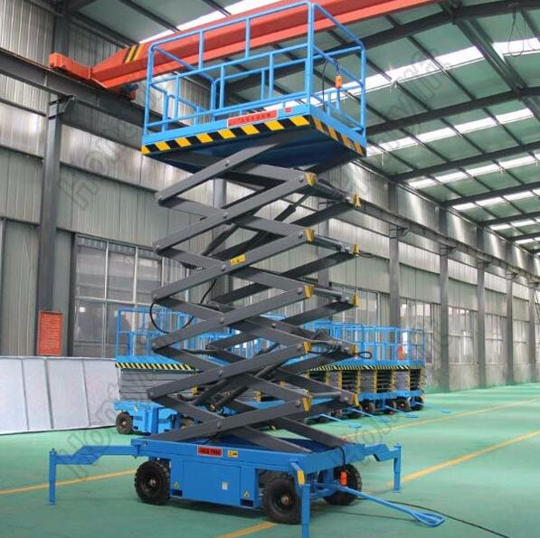 380 v/4.0kw one person electric lift table hydraulic scissor lift platform