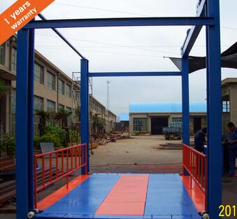4 Post Parking Car lift ISO9001 3T Customized CE for medical use