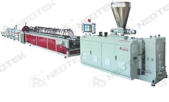 PE/PP Based WPC Extrusion Line