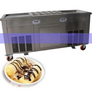 Slab Top Thailand Fry Ice Cream Machine