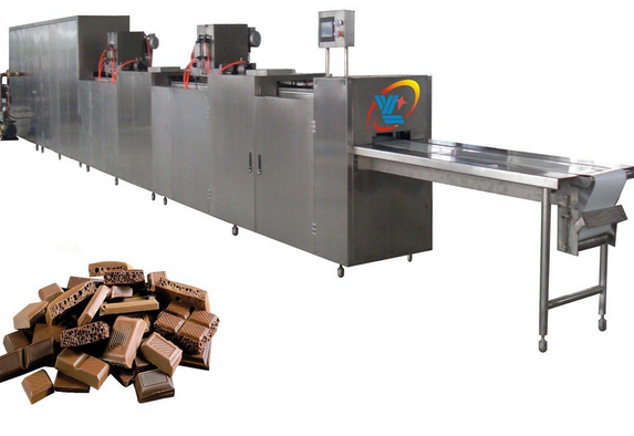 Automatic Depositing Chocolate Production Line with Servo System Chocolate Making Machine