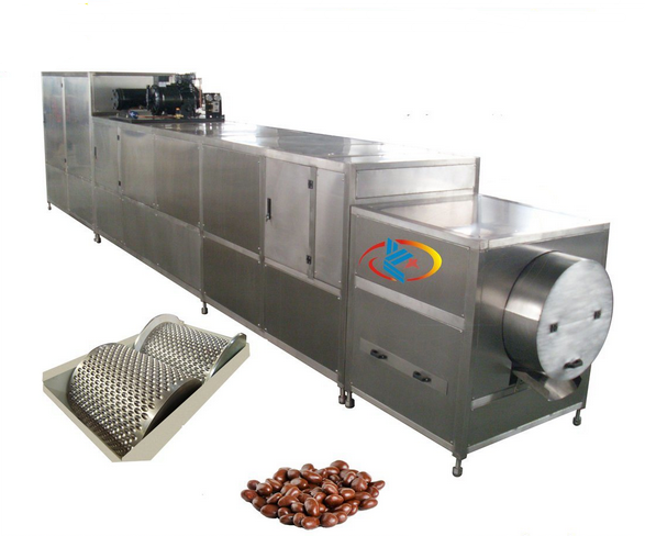 Chocolate Bean Roller Forming Machine Automatic Chocolate Bean Making Machine