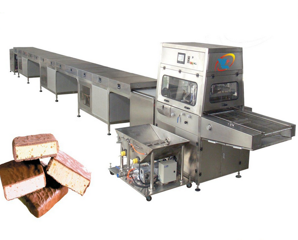 Full Automatic Chocolate Enrobing Machine