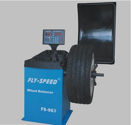 Horizontal Type Tire Wheel Balancer