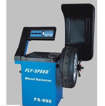 Vertical Type Wheel Balancer For Small Size Wheel